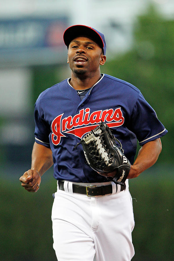 Michael Bourn Photograph by David Maxwell