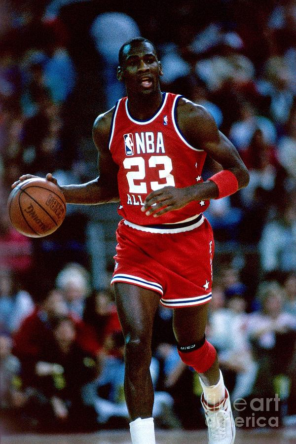 Michael Jordan Photograph by Andrew D. Bernstein