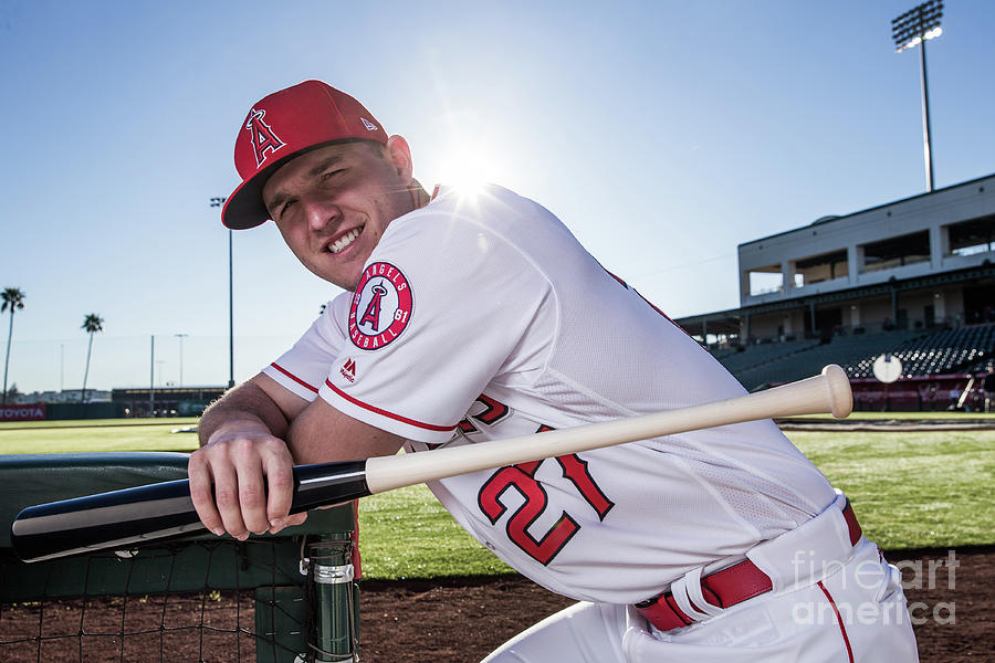 Mike Trout Photograph by Rob Tringali