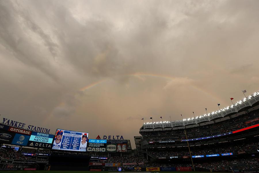 New York Mets v New York Yankees Photograph by Jim McIsaac