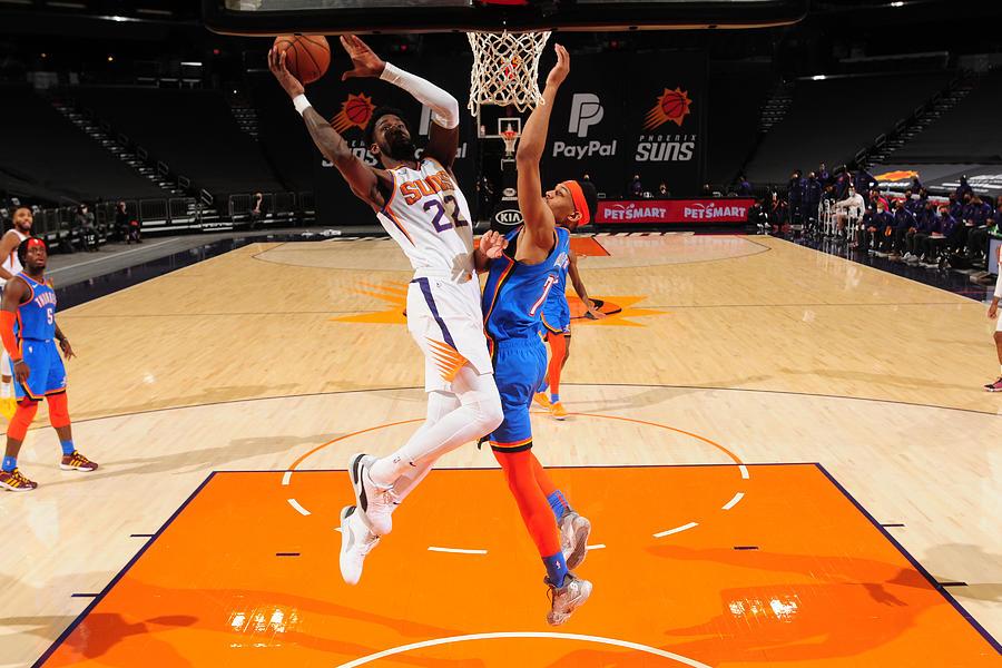 Oklahoma City Thunder v Phoenix Suns Photograph by Barry Gossage