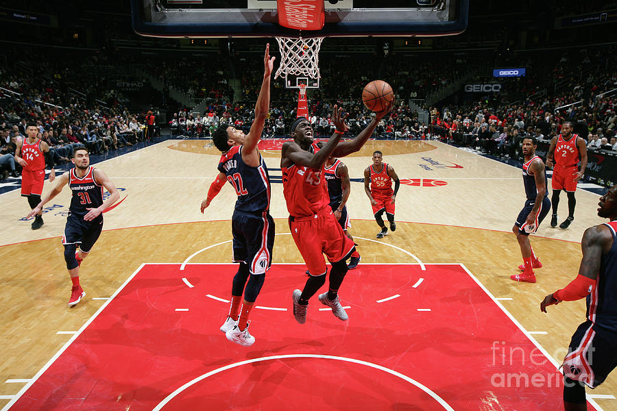 Pascal Siakam Photograph by Ned Dishman