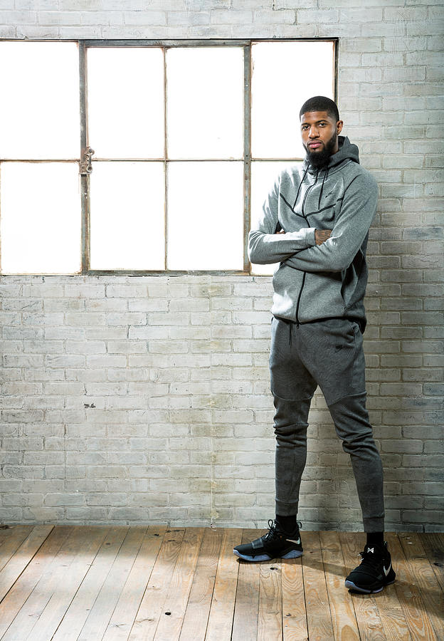 Paul George Photograph by Nathaniel S. Butler