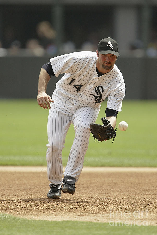 Paul Konerko Photograph by Ron Vesely