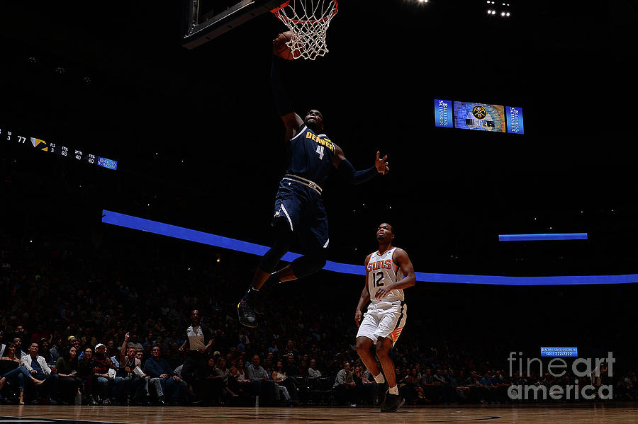 Paul Millsap Photograph by Bart Young