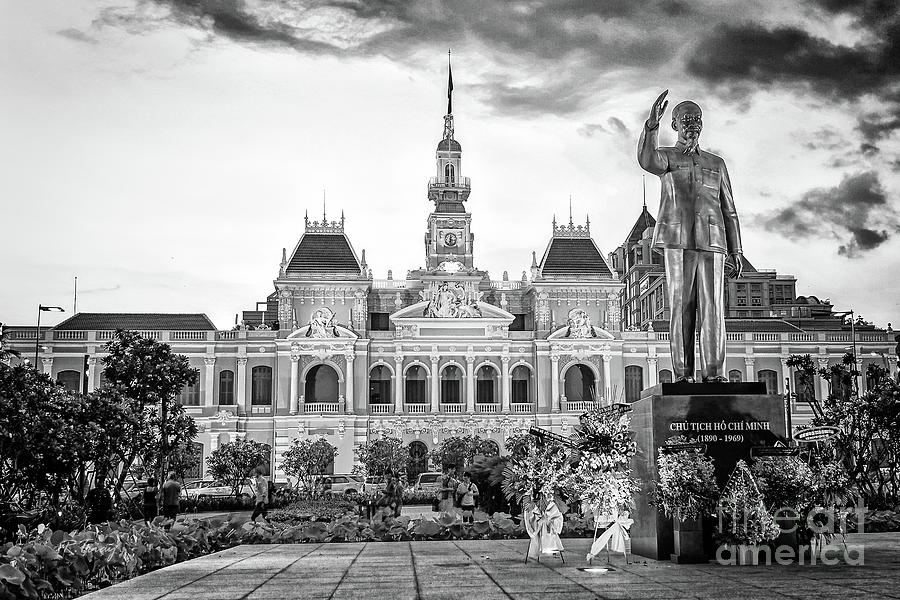 Peoples Committee Building  Saigon Vietnam by Rene Triay Photography