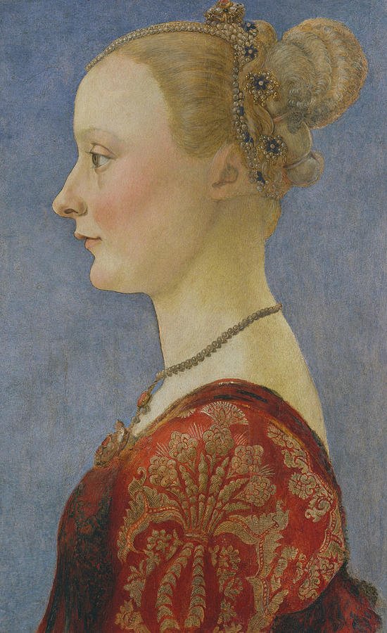 Portrait of a Woman by Piero del Pollaiuolo