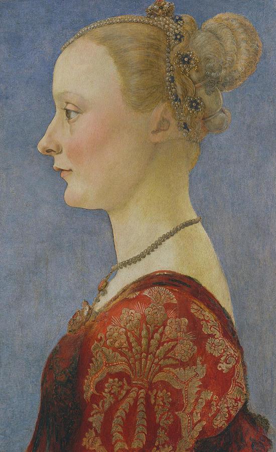 Portrait of a Woman by Piero del Pollaiuolo