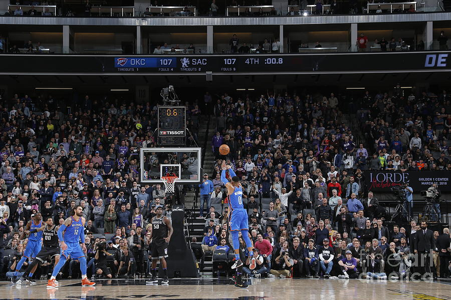 Russell Westbrook Photograph by Rocky Widner