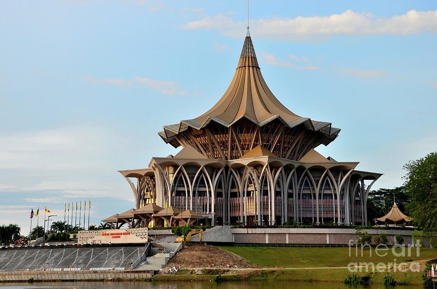 Sarawak State Legislative Parliamentary Assembly Building Kuching Malaysia Photograph