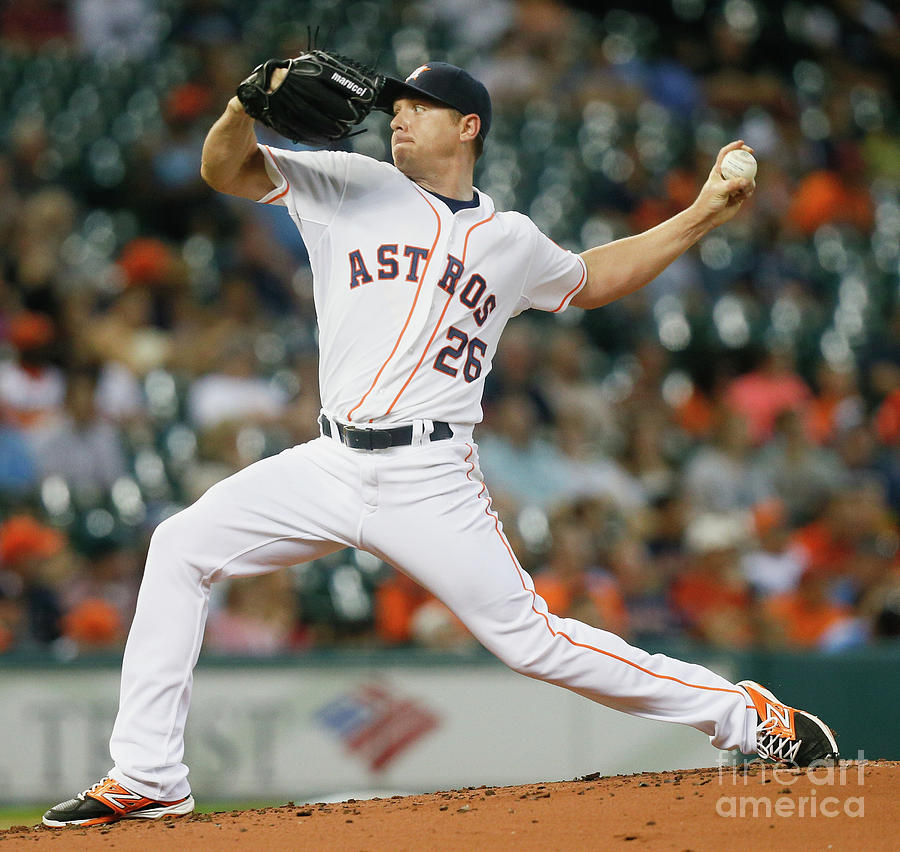 Scott Kazmir Photograph by Bob Levey