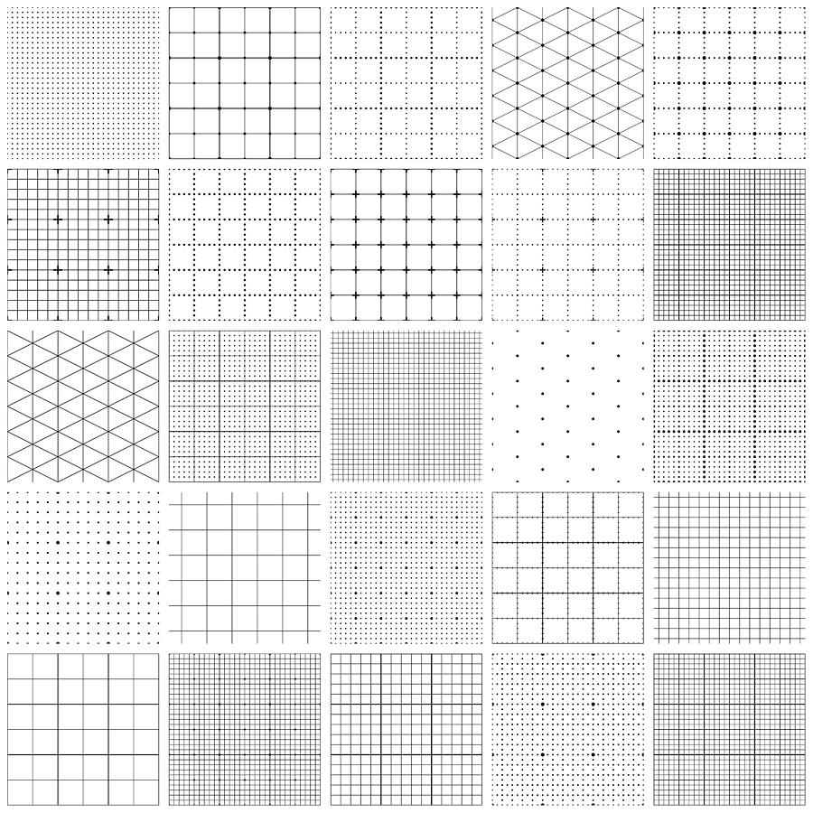 Seamless graph paper Drawing by Ulimi