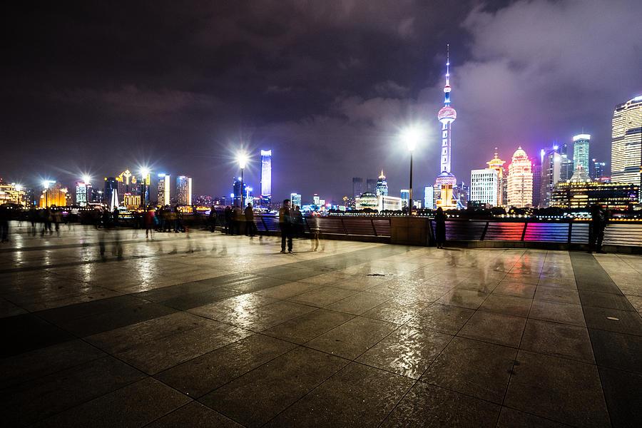 Shanghai China Photograph By Janna Jensen