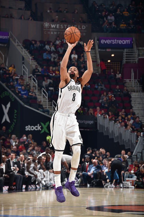 Spencer Dinwiddie Photograph by David Liam Kyle