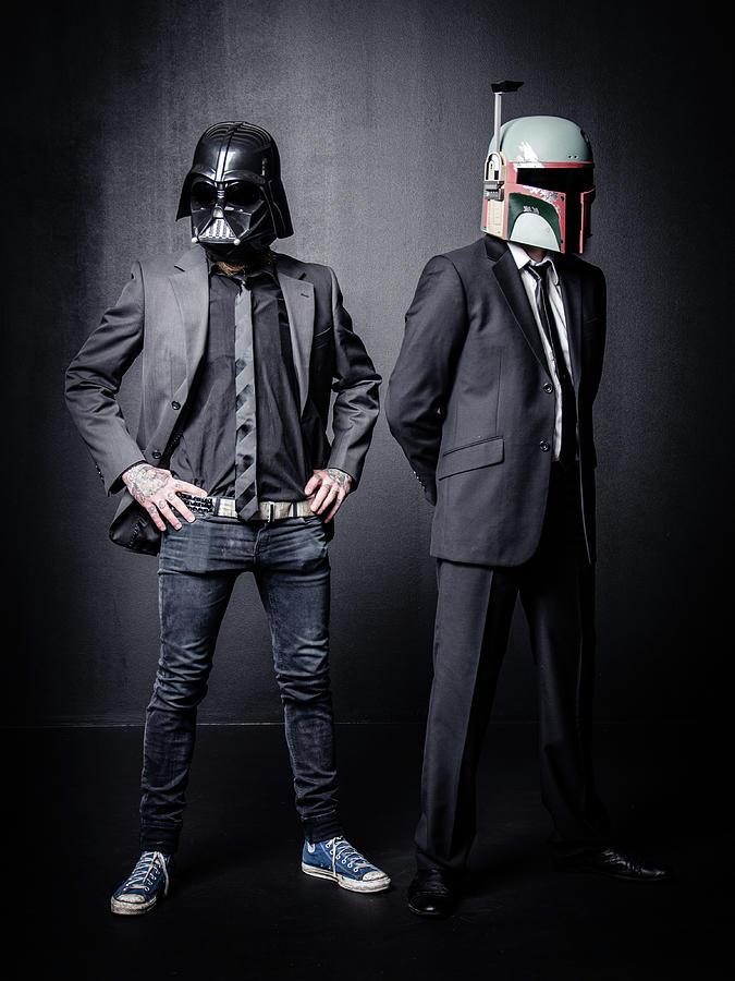 Star Wars Photograph - Star wars by Marino Flovent
