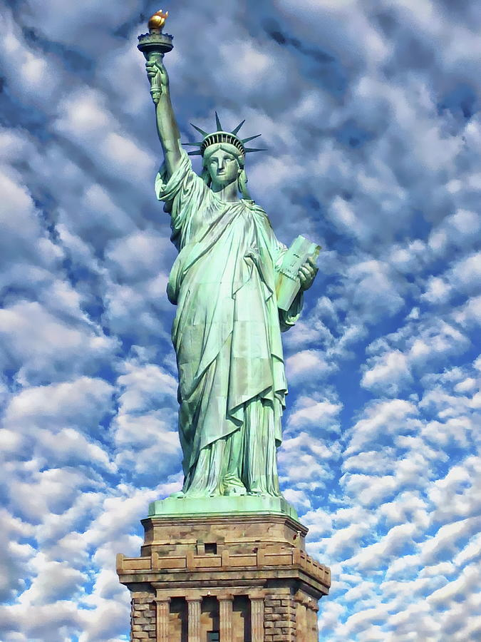 The Statue of Liberty by Anthony Dezenzio