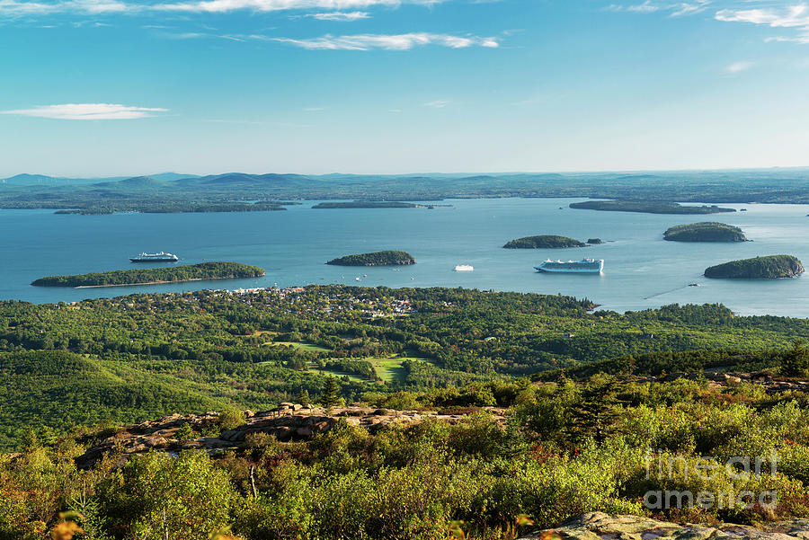 a set of 10 5x7 notecards Maine Sunrise at Acadia National Park Maine Set #3 views from Cadillac Mountain and Otter Cliff