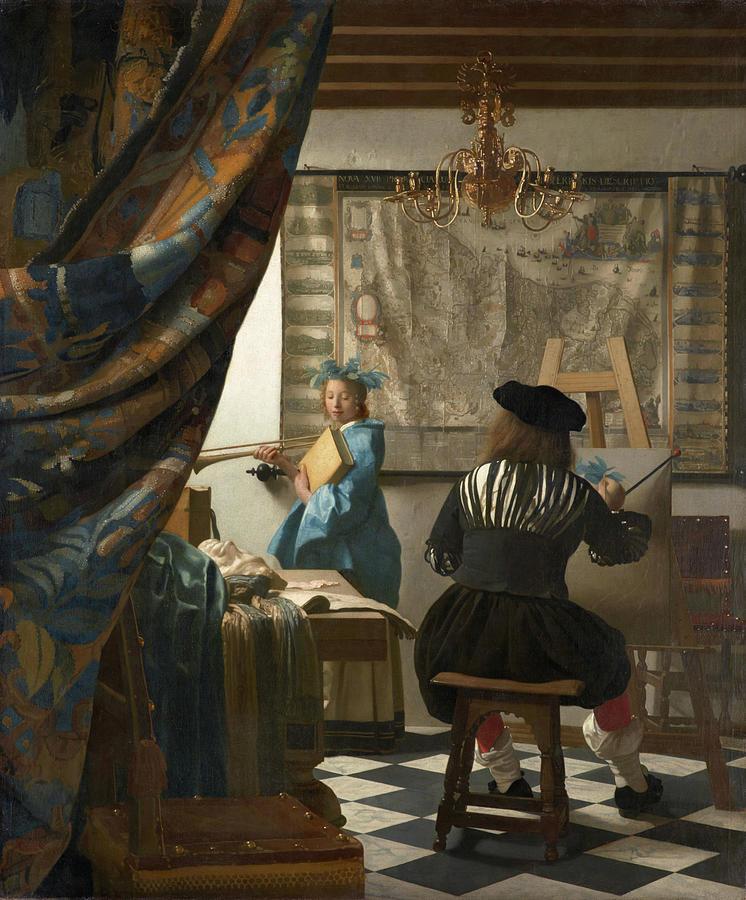 The Art of Painting  by Jan Vermeer