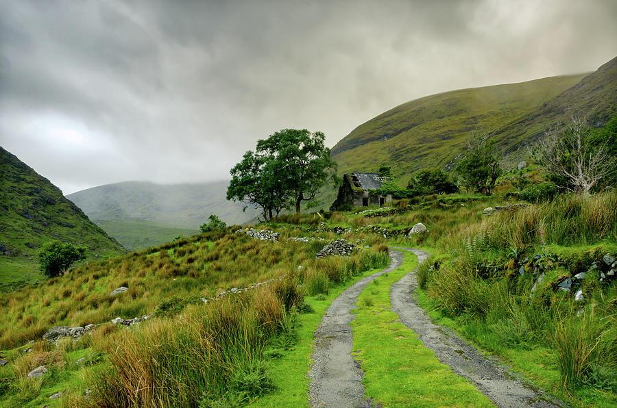 Ireland Photograph - The Black Valley by Fergal Gleeson