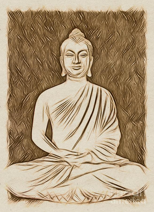 The Buddha by Esoterica Art Agency