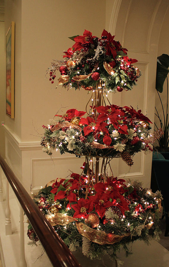 3-Tier Christmas Display by Cynthia Guinn
