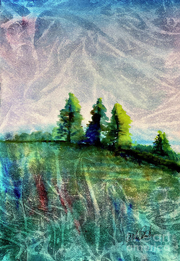 3 Trees Painting