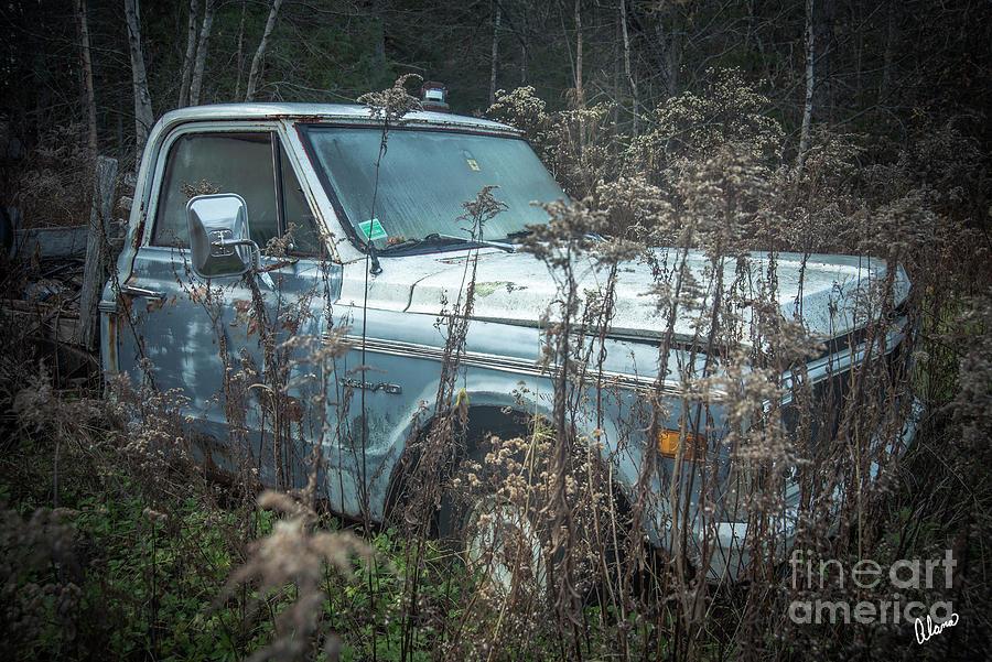 Custom 10 Truck Photograph