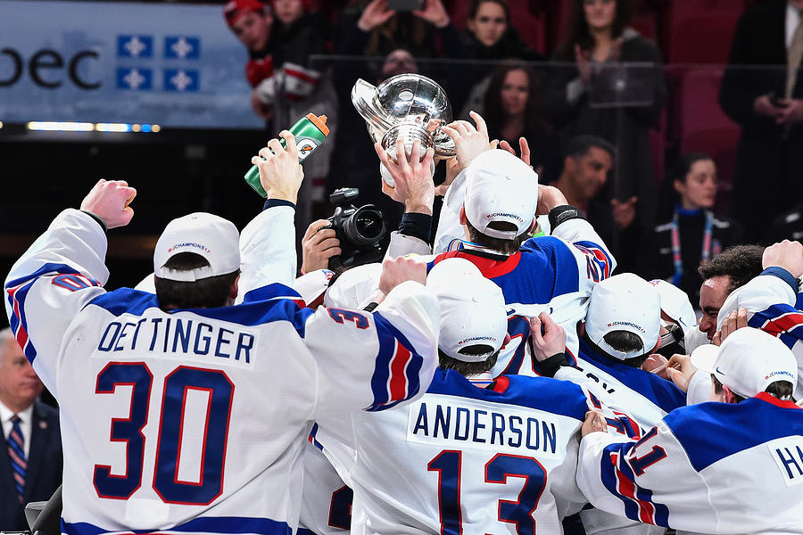 United States v Canada - Gold Medal Game - 2017 IIHF World Junior Championship Photograph by Minas Panagiotakis