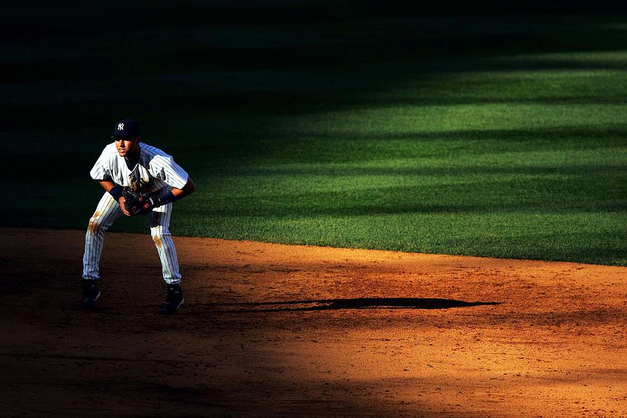 Derek Jeter Photograph by Al Bello