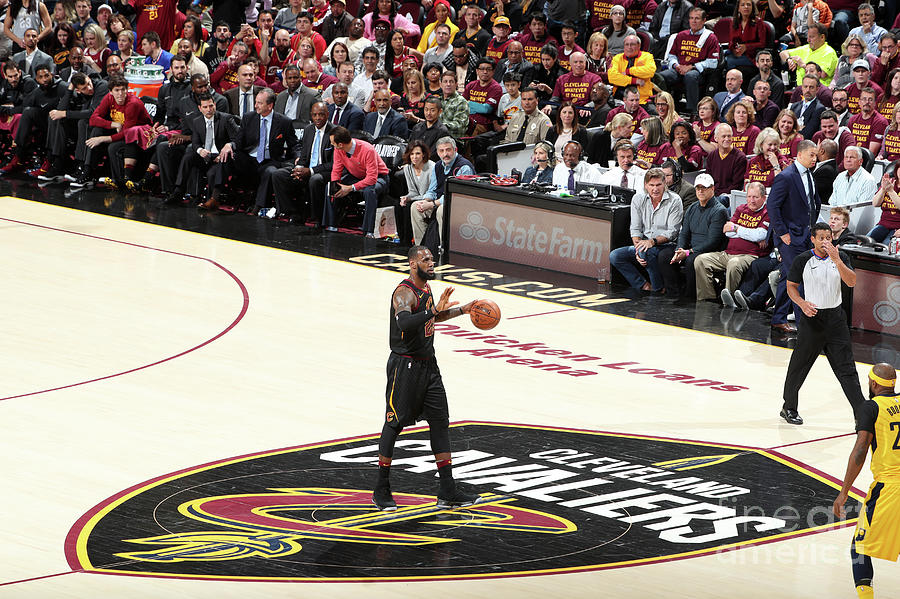 Lebron James Photograph by Nathaniel S. Butler