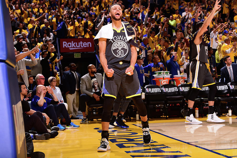 Stephen Curry Photograph by Noah Graham