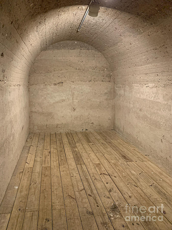 Fort Moultrie Underground Storage Bunker - Charleston South Carolina Photograph