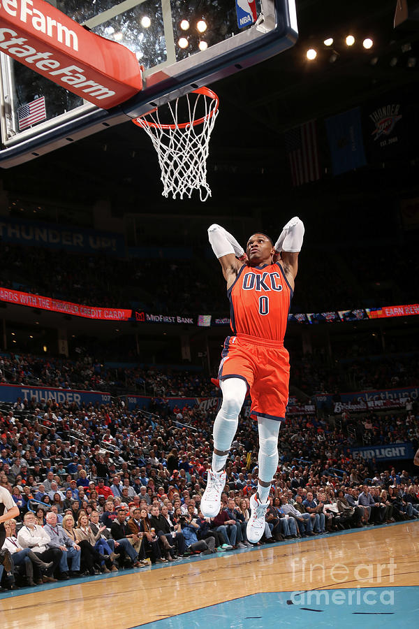 Russell Westbrook Photograph by Layne Murdoch