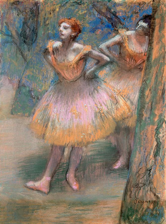Two Dancers Painting
