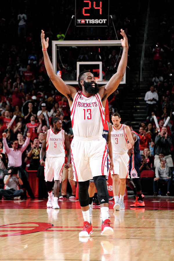 James Harden Photograph by Bill Baptist