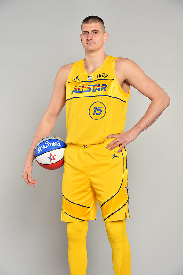 2021 NBA All-Star - Portraits Photograph by Jesse D. Garrabrant