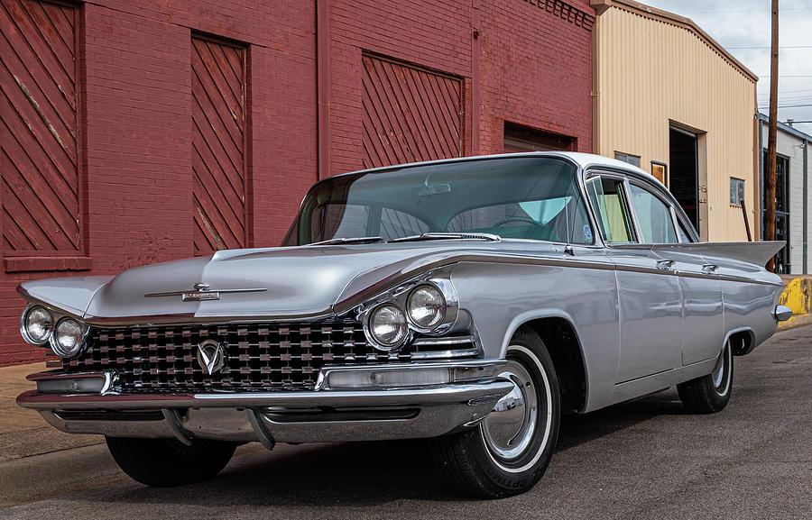 59 Buick Photograph by Peyton Vaughn