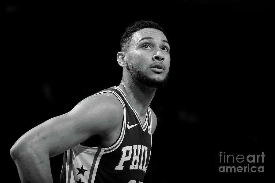 Ben Simmons Photograph by Nathaniel S. Butler
