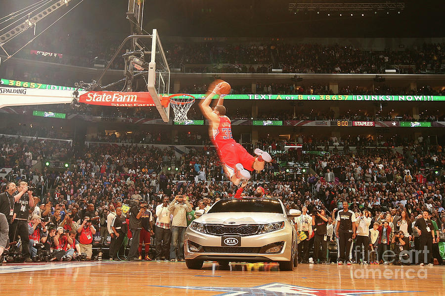 Blake Griffin Photograph by Nathaniel S. Butler