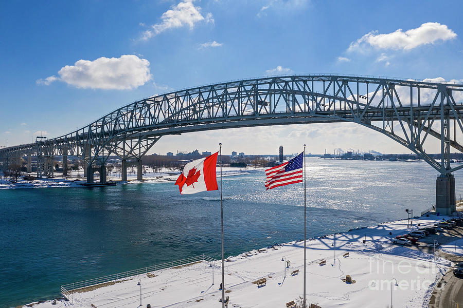 Blue Water Bridge Photograph