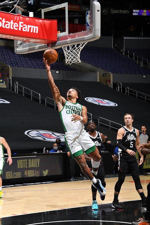 Boston Celtics v LA Clippers Photograph by Adam Pantozzi