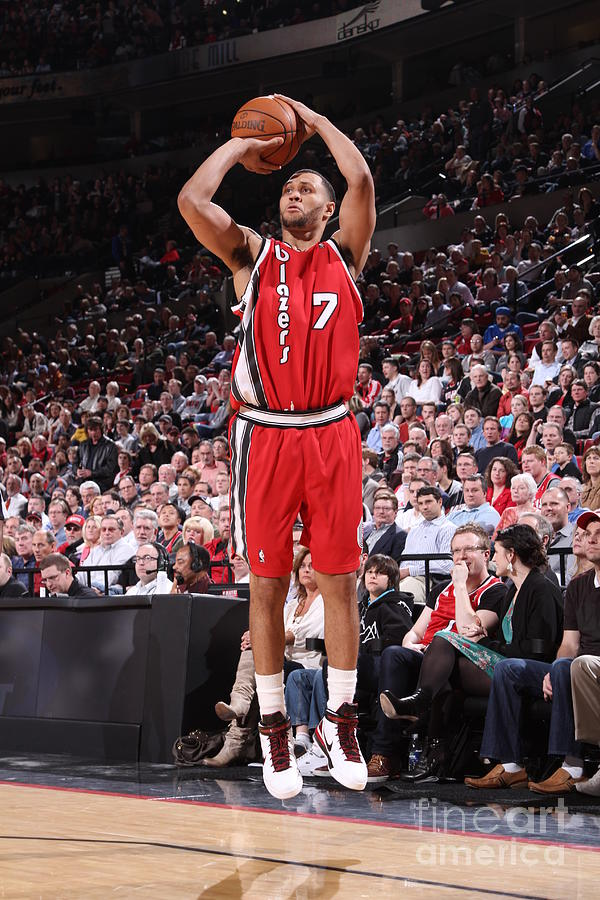 Brandon Roy Photograph by Sam Forencich