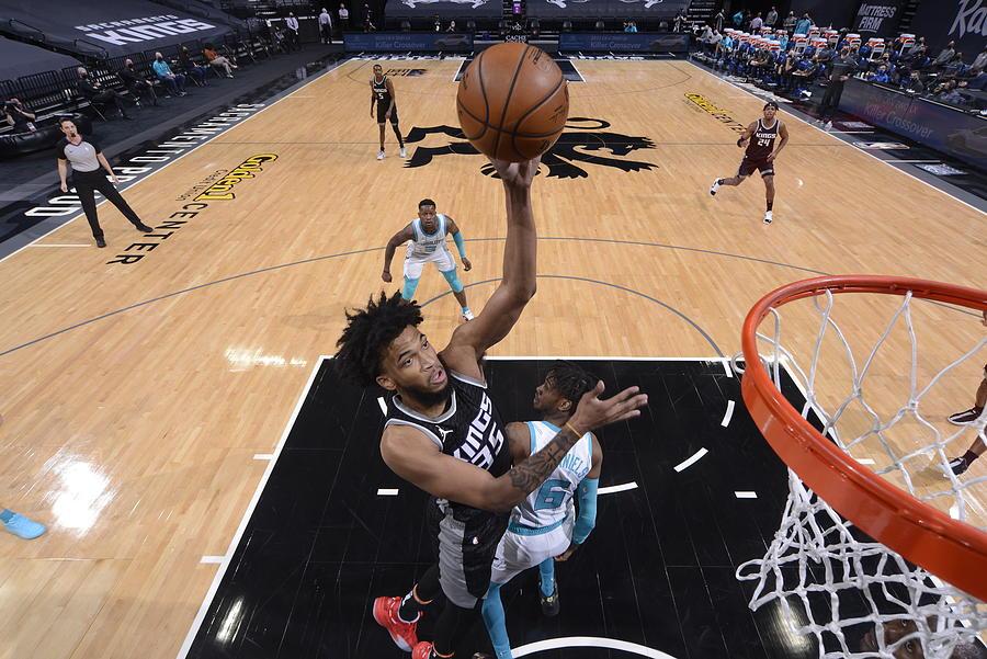 Charlotte Hornets v Sacramento Kings Photograph by Rocky Widner