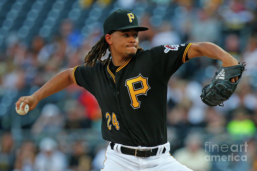 Chris Archer Photograph by Justin K. Aller