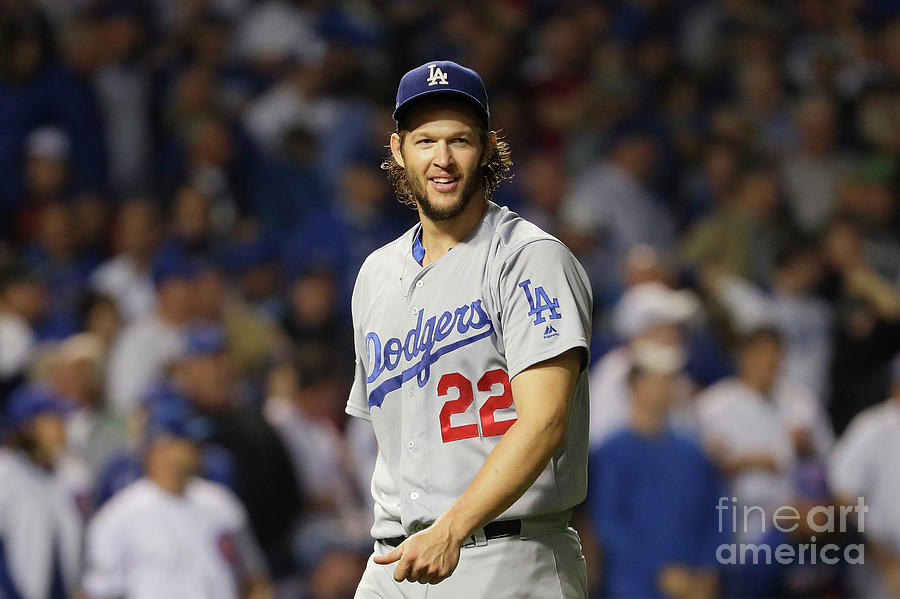 Clayton Kershaw Photograph by Jamie Squire