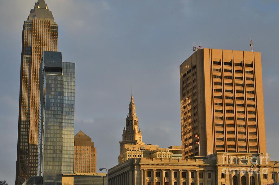 Cleveland City Skyline Photograph