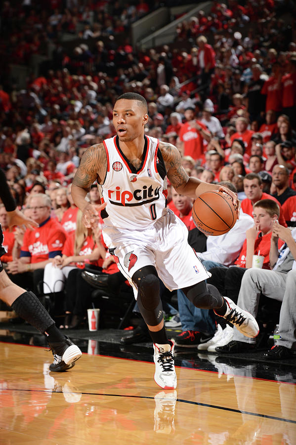 Damian Lillard Photograph by Garrett Ellwood