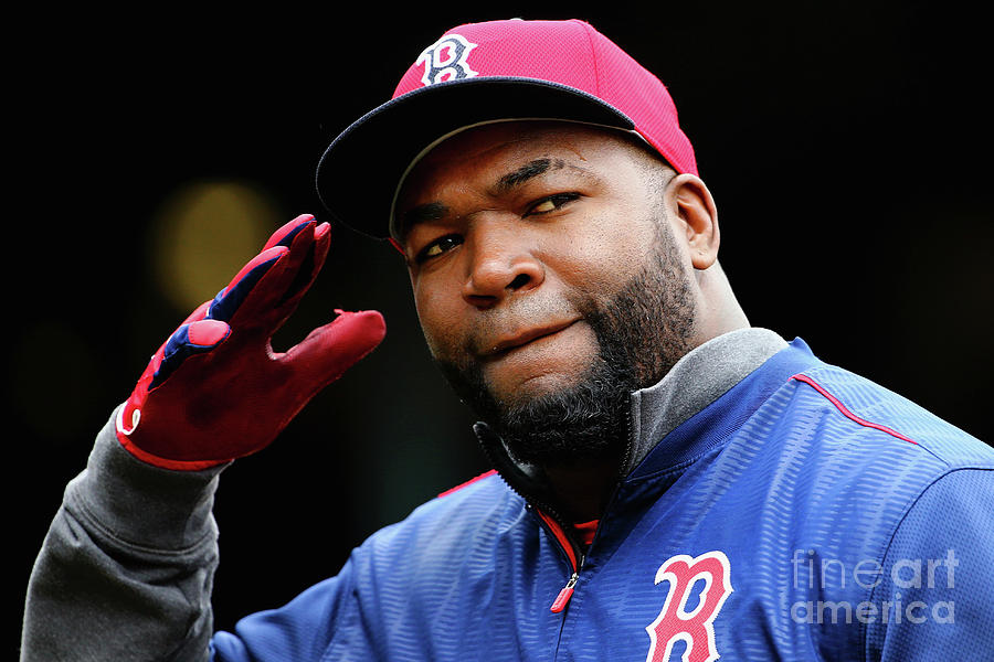 David Ortiz Photograph by Maddie Meyer