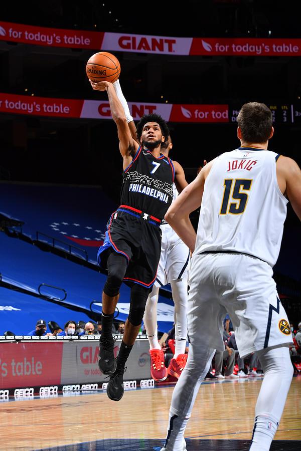 Denver Nuggets v Philadelphia 76ers Photograph by Jesse D. Garrabrant