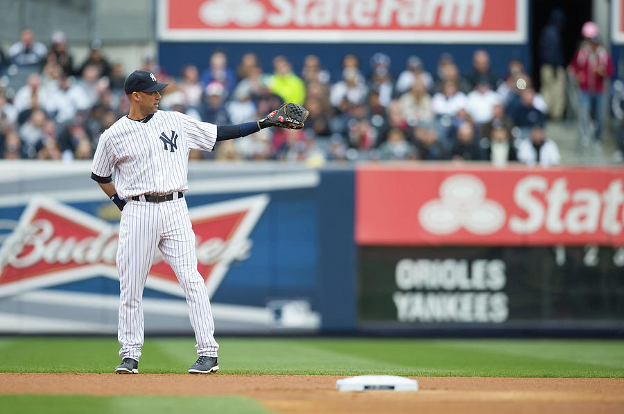 Derek Jeter Photograph by Rob Tringali